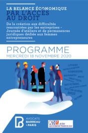Programme journée 18 - 11 - Accès au droit TPEPME